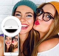 Светодиодное кольцо для селфи Selfie Ring Light, фото 1