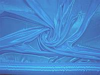 Перл шифон темно-голубой