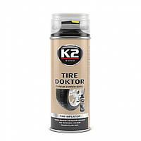 K2 B310 TIRE DOKTOR USA Средство для аварийной вулканизации шин (аэрозоль) 355мл
