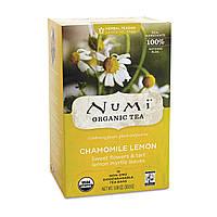 "NUMI Травяной тизан "" Ромашка с лимоном"" / Chamomile Lemon, 18 пакетиков"