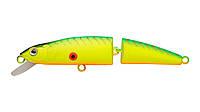 Воблер Strike Pro Minnow Jointed SM90 плавающий составной 9см 8,6гр Загл. 0,5м -1,3м #A17S