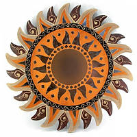 Зеркало Солнце настенное декор