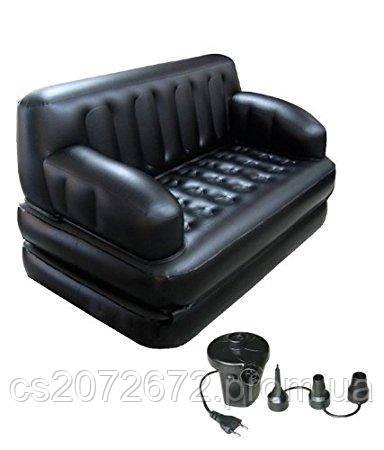 надувной диван кровать 5 In 1 Sofa Bed софа бэд надувная мебель