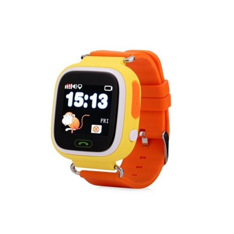 Умные часы Atrix iQ400 Touch GPS Yellow - Интернет-магазин Kobra в Харькове