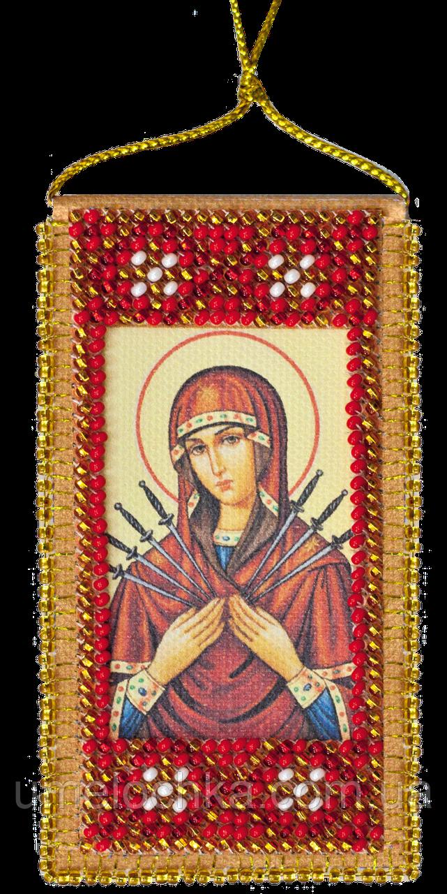 """Набор для вышивки бисером на натуральном художественном холсте """"Молитва о сохранении дома"""""""