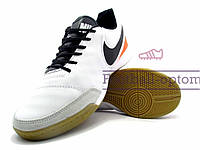 Футзалки (бампы) Nike Tiempo (0464) белые