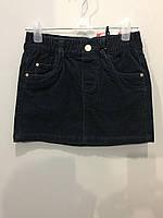 Детская юбка из микровельвета 110 см, фото 1