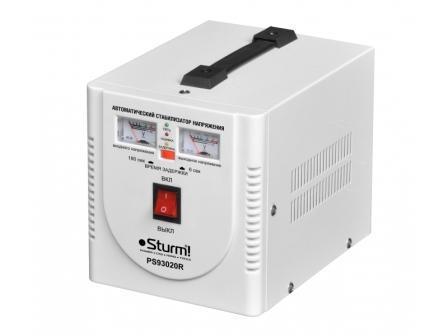 Стабилизатор напряжения для бытовой техники 2кВт Sturm PS93020R