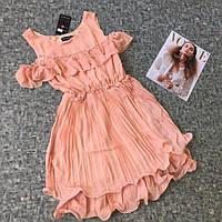 Платье с бусинками р.S-M,L-XL