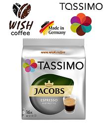 Кофе в капсулах Тассимо - Tassimo Jacobs Espresso Ristretto (16 порций)