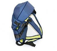 Рюкзак-кенгуру №8 лёжа,цвет темно-синий. Предназначен для детей с двухмесячного возраста