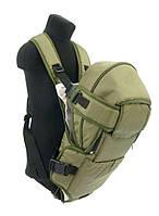 Рюкзак-кенгуру №8 лёжа,цвет хаки. Предназначен для детей с двухмесячного возраста