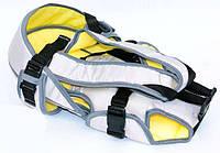 Рюкзак-кенгуру №8 лёжа,цвет серый.Предназначен для детей с двухмесячного возраста