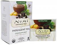 "NUMI Травяной тизан "" Шоколад и мята "" / Chocolate Mint, 12 пакетиков"