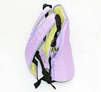 Рюкзак-кенгуру №7 сидя, цвет сиреневый. Предназначен для детей с двухмесячного возраста