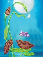 Схема для вышивки бисером на натуральном художественном холсте Лик природы