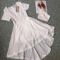 Платье удлиненное сзади р.S,M,L