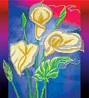 Схема для вышивки бисером на натуральном художественном холсте Эллиотта