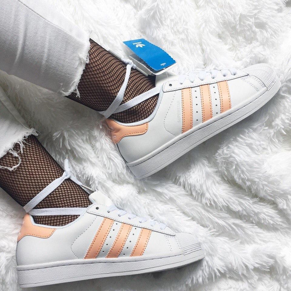 Женские кроссовки Adidas Superstar 80s Metal Toe White