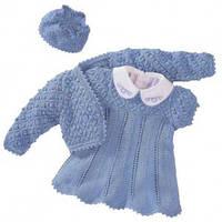 Вязанные платья, болеро для девочек
