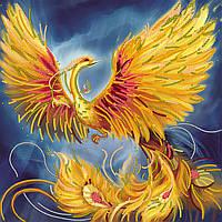 Схема для вышивки бисером на натуральном художественном холсте Жар-птица