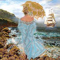 Схема для вышивки бисером на натуральном художественном холсте Магия моря
