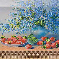 Схема для вышивки бисером на натуральном художественном холсте Сладкий урожай