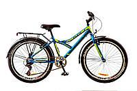 Велосипед подростковый с багажником 24'' DISCOVERY FLINT MC 2017