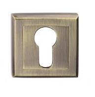 Накладка под ключ (цилиндр)  Gamet Plt-25-pz-ab-kw бронза
