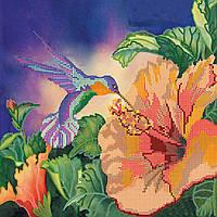 Схема для вышивки бисером на натуральном художественном холсте Сладкий нектар