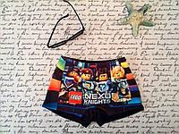 Плавки шорты для мальчиков NEXO Knights Нексо найтс