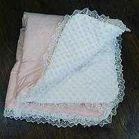 Плед в коляску или кроватку 90×90 ( летний ).