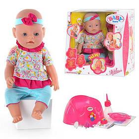 Кукла Пупс Baby Born (Беби Борн) BB429103. 9 функций. 10 аксессуаров