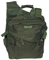 Сумка, жилет и рюкзак 3 в 1, olive, Max Fuchs