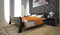 Кровать из натурального дерева Ретро