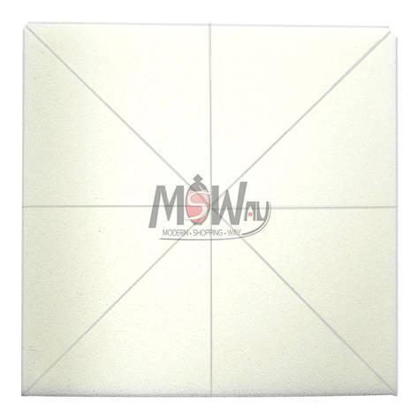 Parisa Спонж C-08 латекс мягкий треугольный, нарезка из квадрата, белые 8шт, фото 2