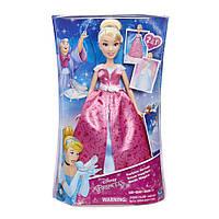 Модная кукла Золушка в роскошном платье трансформере Hasbro (C0544)