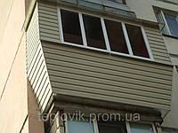 Ремонт балкона под ключ 3м серия БПС 6 с выносом