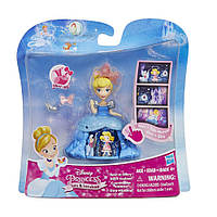 Маленькая кукла Принцесса Золушка в платье с волшебной юбкой Hasbro (B8965)