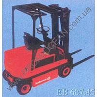 Электрический вилочный автопогрузчик БАЛКАНКАР, тип EВ-687.45