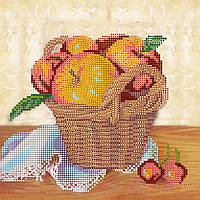 Схема для вышивки бисером на натуральном художественном холсте Летний урожай