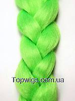 Канекалон KJ100: цвет green