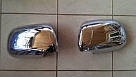 Хром накладки на зеркала Toyota Hilux