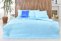 Набор Горох: постельное белье и одеяло летнее, бирюза