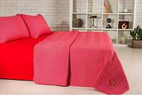 Набор Горох: постельное белье и одеяло летнее, красный