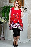 Блузы, туники и кофты больших размеров