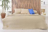 Набор Горох: постельное белье и одеяло летнее, горчица