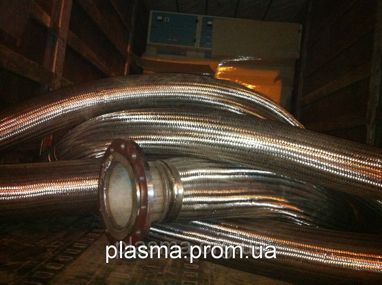 Металлорукав высокого давления из нержавеющей стали Ду 250