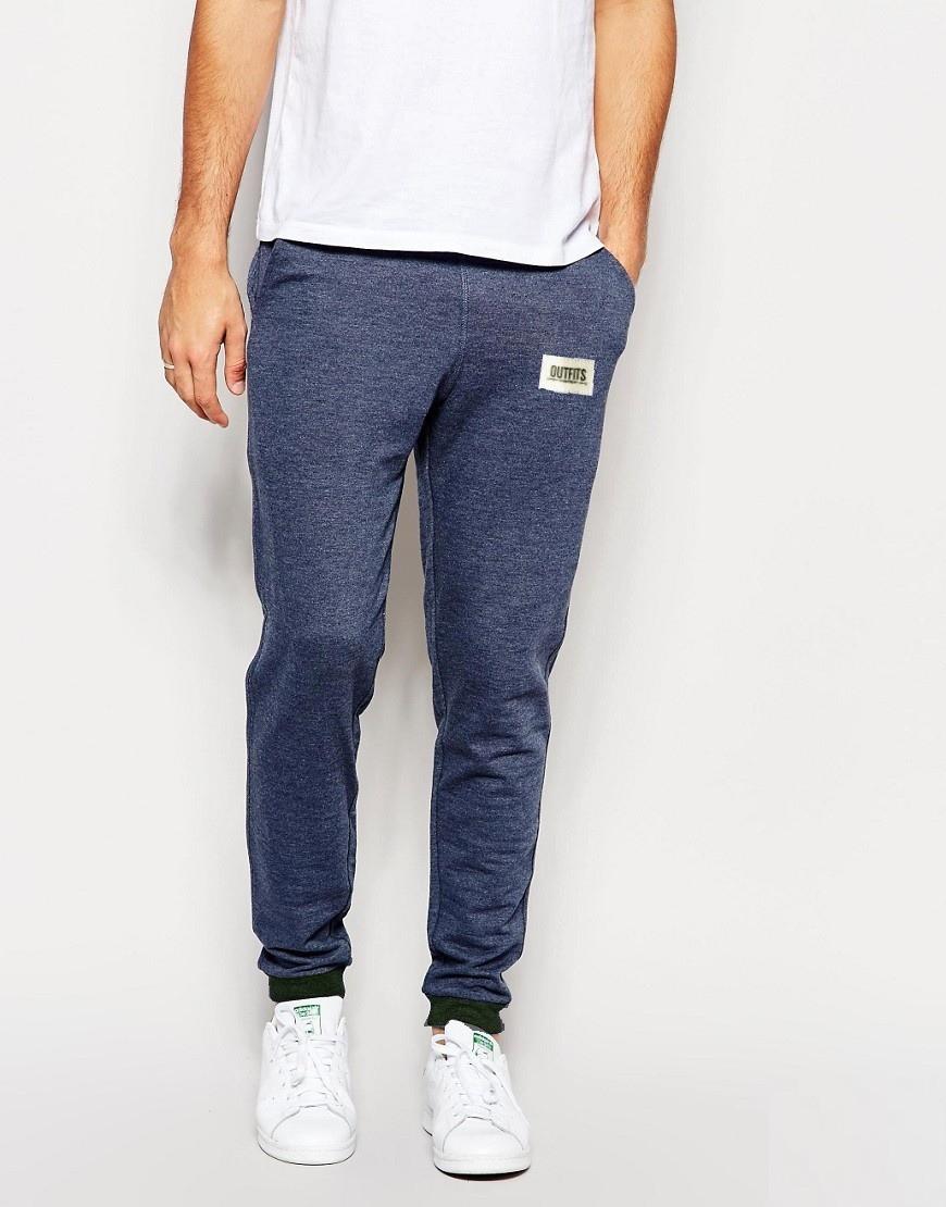 Спортивные штаны Outfits- Pants 1.0 Navy Heather (мужские трикотажные    чоловічі спортивні штани трикотажні f380729119ec2