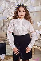 Школьная юбка с вышивкой Амели Suzie Размеры 146 - 158